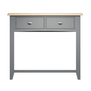 Lincoln Painted Grey Console Table