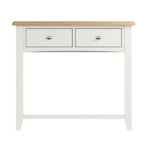 Lincoln Painted White Console Table