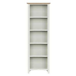 Lincoln Painted White Large Bookcase