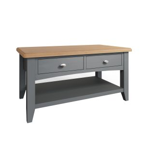 Lincoln Painted Grey Large Coffee Table