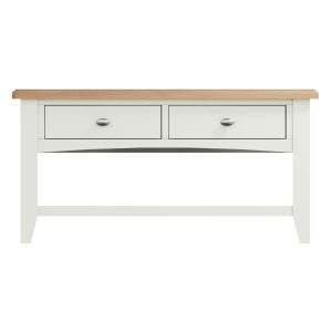 Lincoln Painted White Large Coffee Table