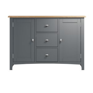 Lincoln Painted Grey Large Sideboard