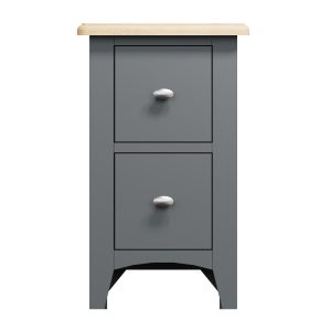 Lincoln Painted Grey Small Bedside Cabinet