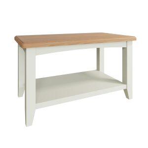 Lincoln Painted White Small Coffee Table
