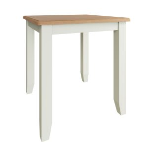 Lincoln Painted White Fixed Top Dining Table