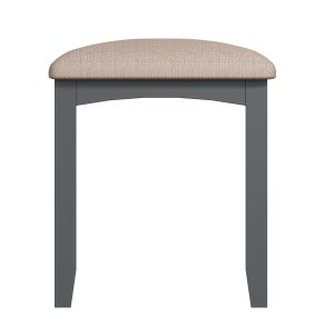 Lincoln Painted Grey Dressing Table Stool