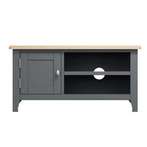 Lincoln Painted Grey TV Unit