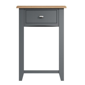 Lincoln Painted Grey Telephone Table